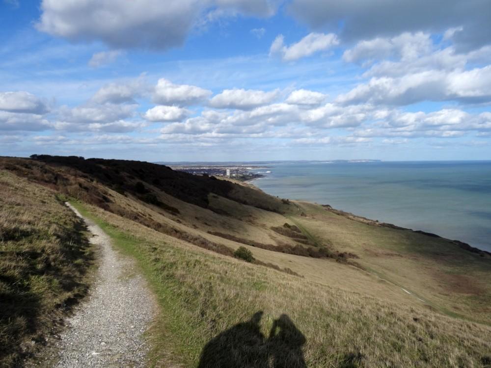 Wandelen over de Seven Sisters in East Sussex