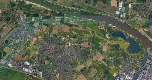 Wandelen over het klompenpad Doddendael bij Beuningen